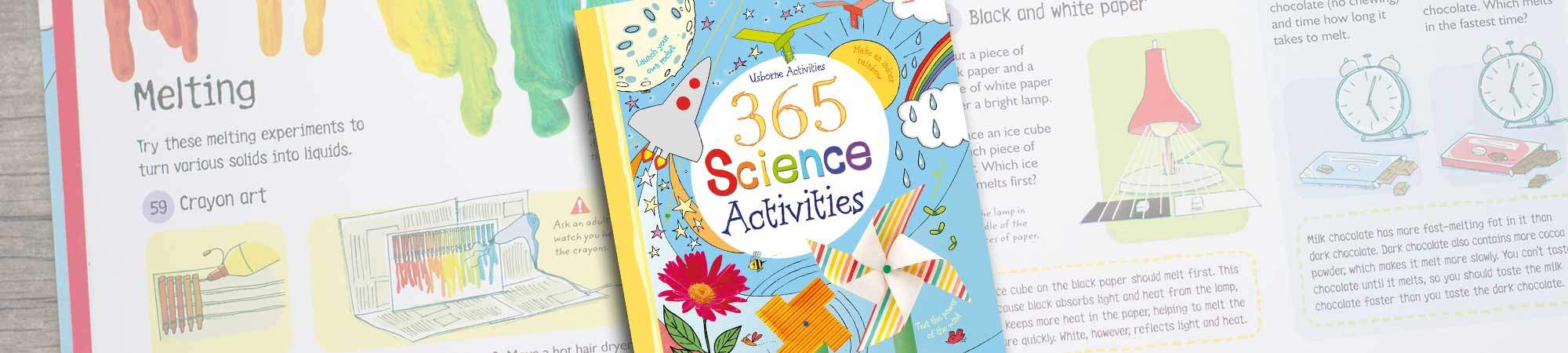 Little Bird 61% off Usborne's 365 Science Activities - An Experiment for Every Day of The Year