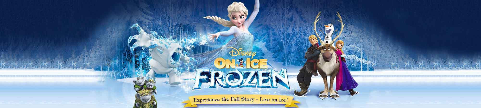 Little Bird Disney On Ice presents Frozen. The Family Favourite Comes Alive On The Ice For A Magical Day Out!