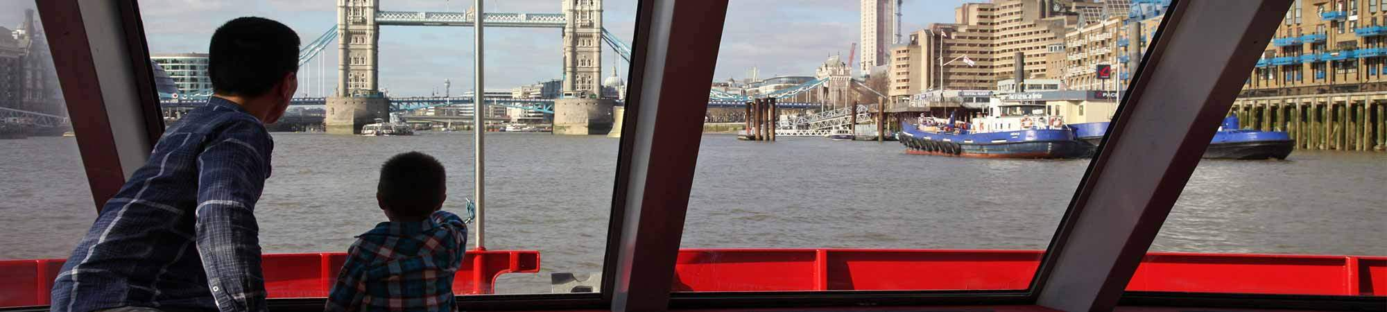 Little Bird 50% off 50 Minute Tours of The River Thames with City Cruises- Great Day Out This Summer!