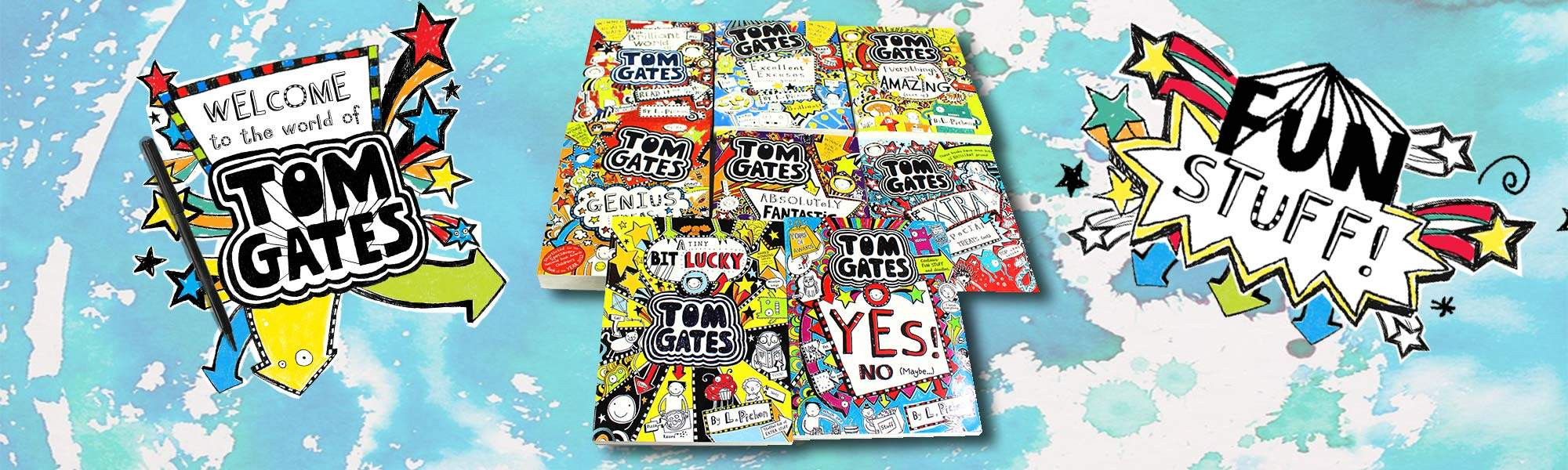 Little Bird 60% off Tom Gates 8 Book Collection - From Award-Winning and Best-selling Author Liz Pichon, Plus Free Delivery!