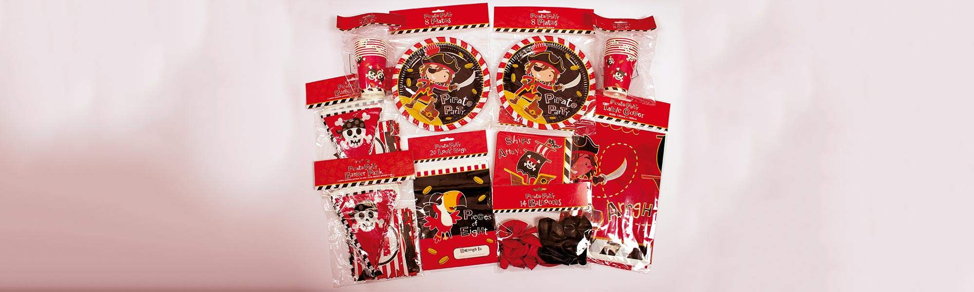 Little Bird Pirate Party Pack, 75% off