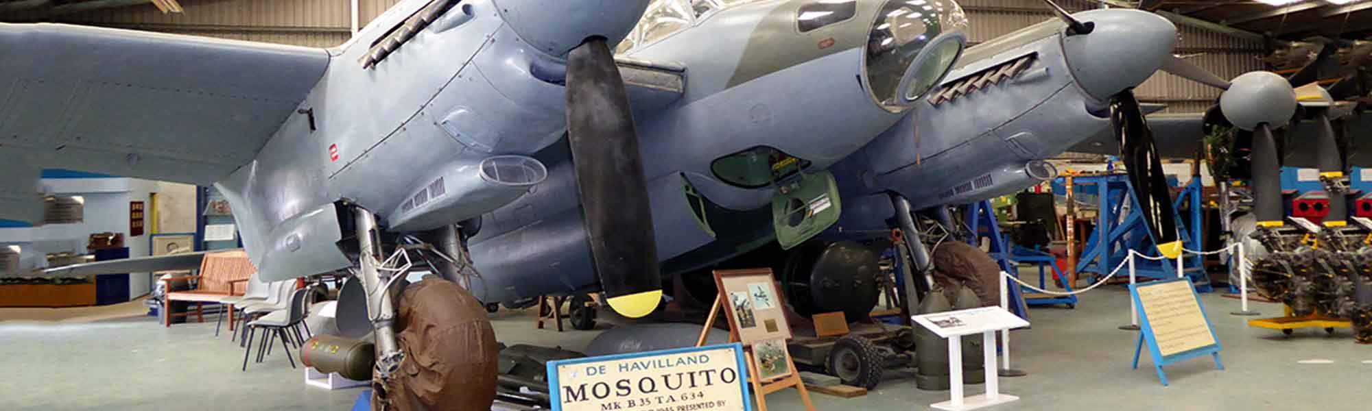Little Bird de Havilland Aircraft Museum - Get On Board & Experience A Pilots Eye View, Up to 50% off