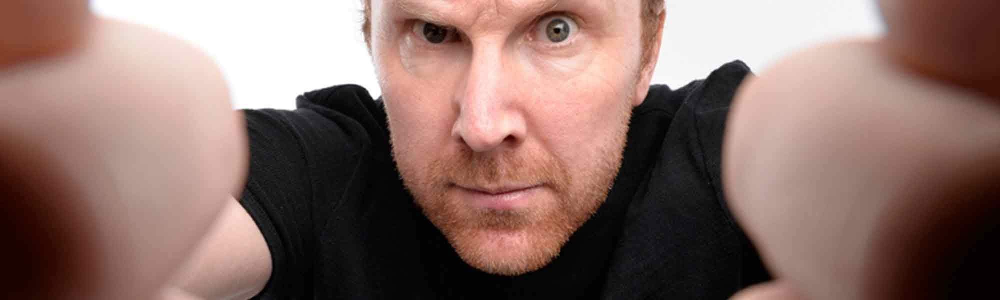 Little Bird Jason Byrne: The Man With Three Brains at the Underbelly Festival
