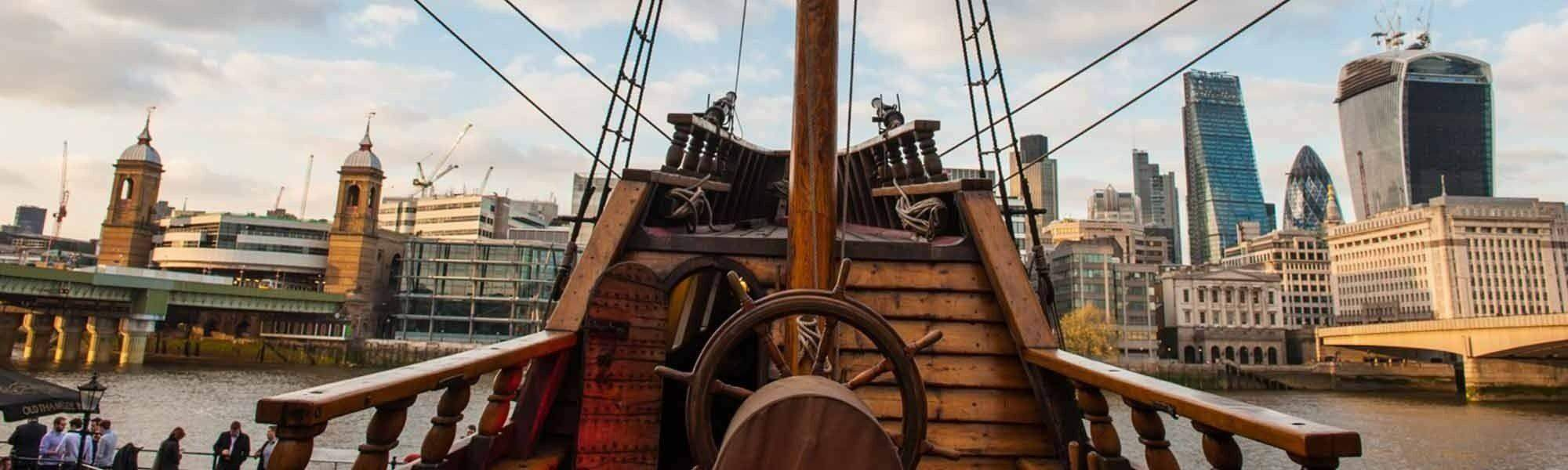 Tickets & Events Hilarious Tours, Pirate Days and more aboard The Golden Hinde - Fantastic Day Out to Learn and Have Fun, up to 25% off