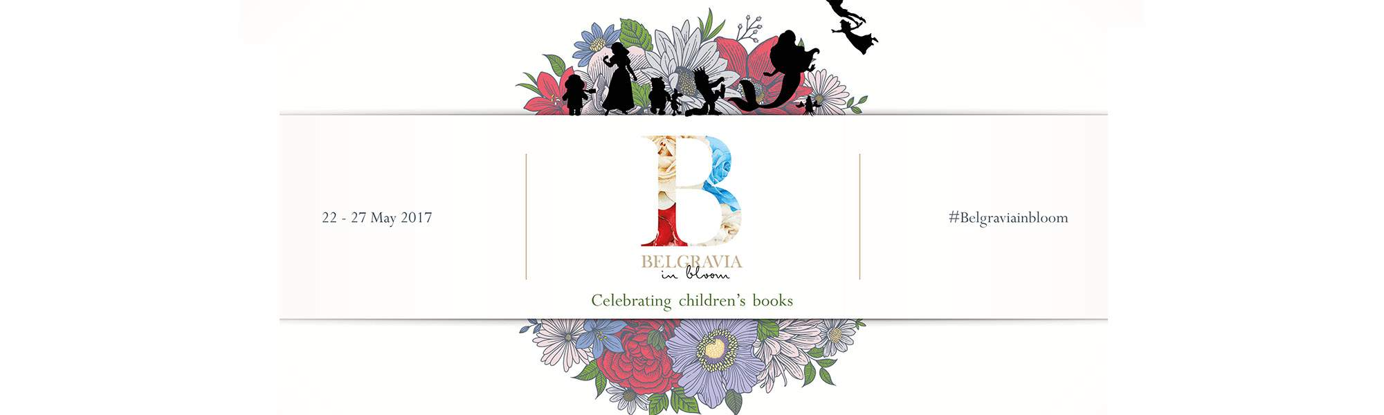 Little Bird Belgravia in Bloom 2017 - A Six Day Floral Festival Celebrating Children's Books