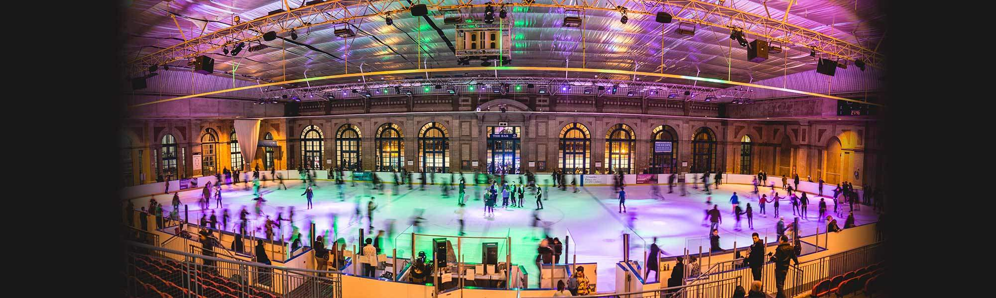 Little Bird Ice Skating at Alexandra Palace - Skate at One of London's Most Spectacular Locations, 50% off