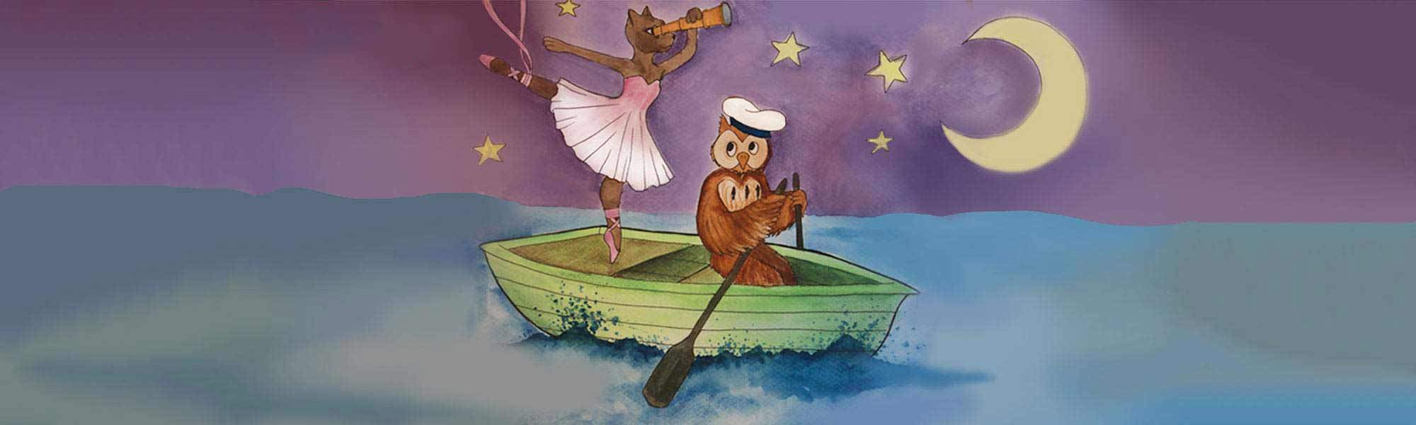 Little Bird EarlyBird Tickets! The Owl & the Pussycat at Lilian Baylis Studio, Sadler's Wells - A Beautiful Ballet for Ages 2 - 11 year Olds, 35% off