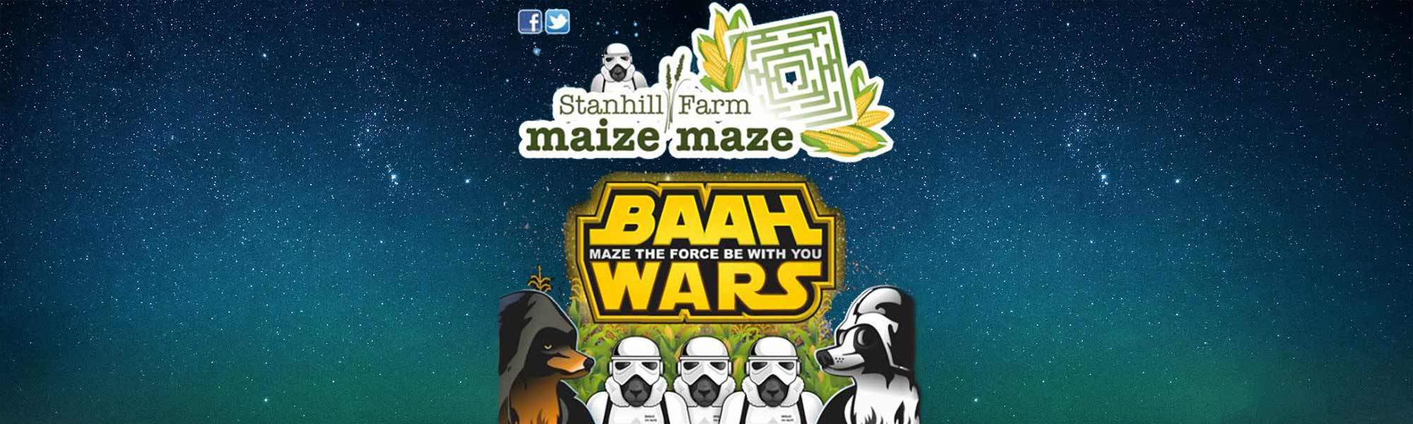 Events for Children Maize Maze at Stanhill Farm - Out of this World Family Fun, Up to 17% off