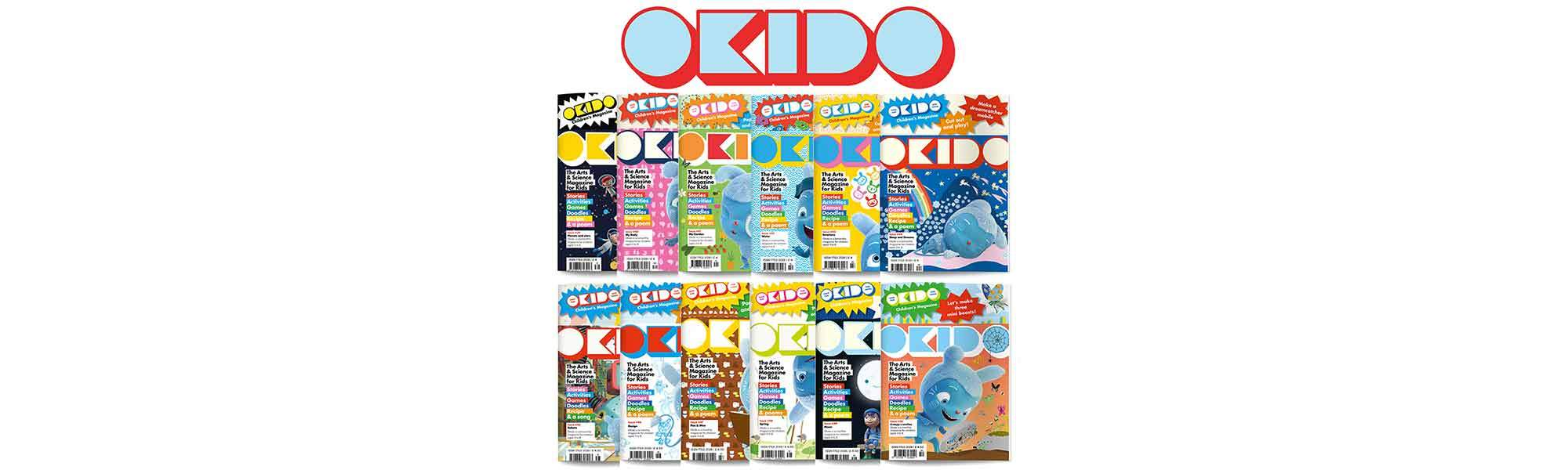 Little Bird Okido Magazine Subscription - Art, Science and More for Curious Minds Aged 3-8, Exclusive Up to 33% off