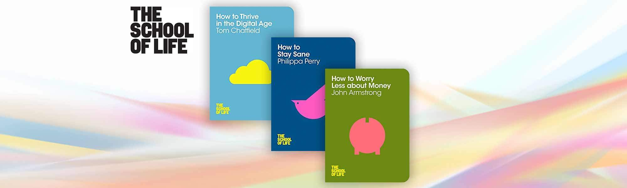 School of Life - How to    Collection - 3 Books, 83% off
